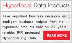 Hyperlocal data products
