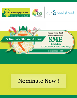 SME Business Excellence Award 2015